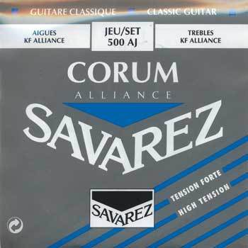 Savarez 500 AJ Corum Alliance Classic - Blau