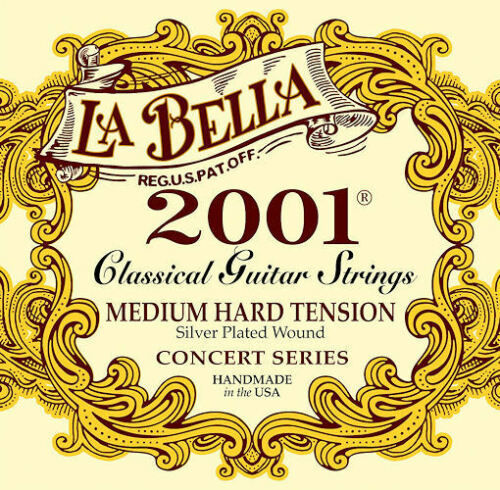 La Bella 2001 Classical Guitar Strings - 1 Set