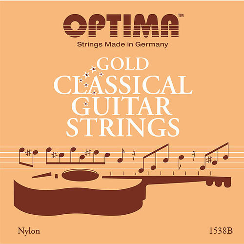 OPTIMA Gold Classical Guitar Strings 1538B - 1 Set