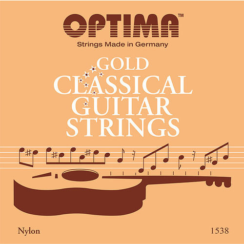 OPTIMA Gold Classical Guitar Strings 1538 - G3 Gold