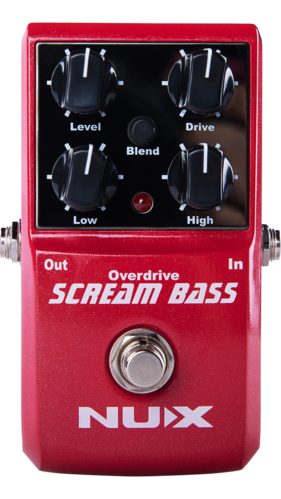 NUX Scream Bass - Bass Overdrive-Effekte