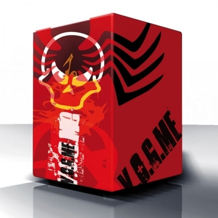 "VOLT Cajon ""Angry Red Planet"" (L)"