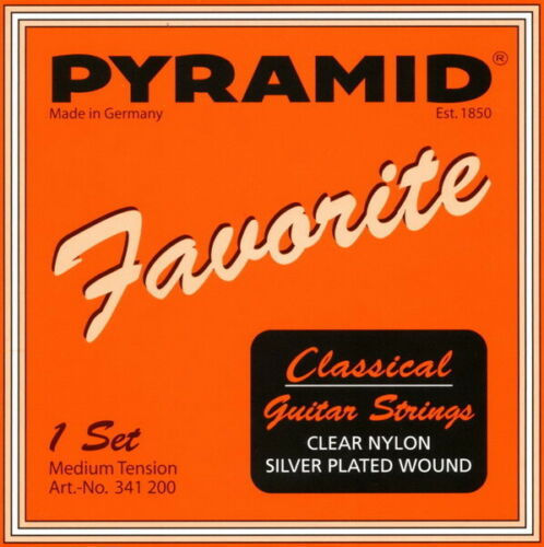 Pyramid Classical Guitar Strings - Medium Tension