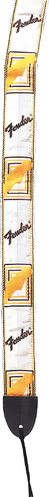 Fender Gitarrengurt white/brown/yellow