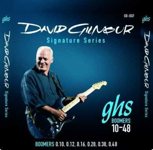 GHS Boomers 10-48 GB-DGF - David Gilmour Signature Series - Blue