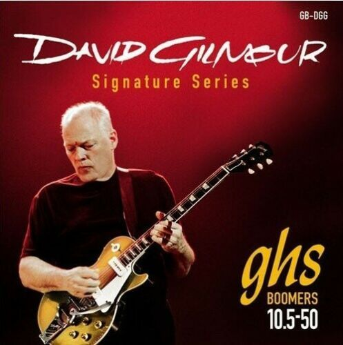GHS Boomers 10.5-50 GB-DGG - David Gilmour Signature Series - Red