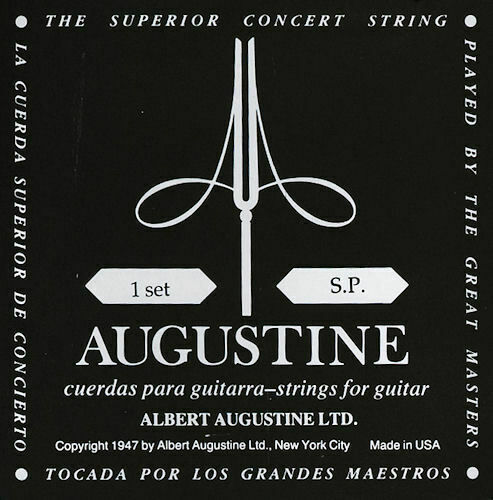 Augustine Classic Black - Low Tension - 1 Set