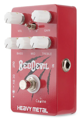 "Caline CP-30 ""Red Devil"" Distortion - Heavy Metal"
